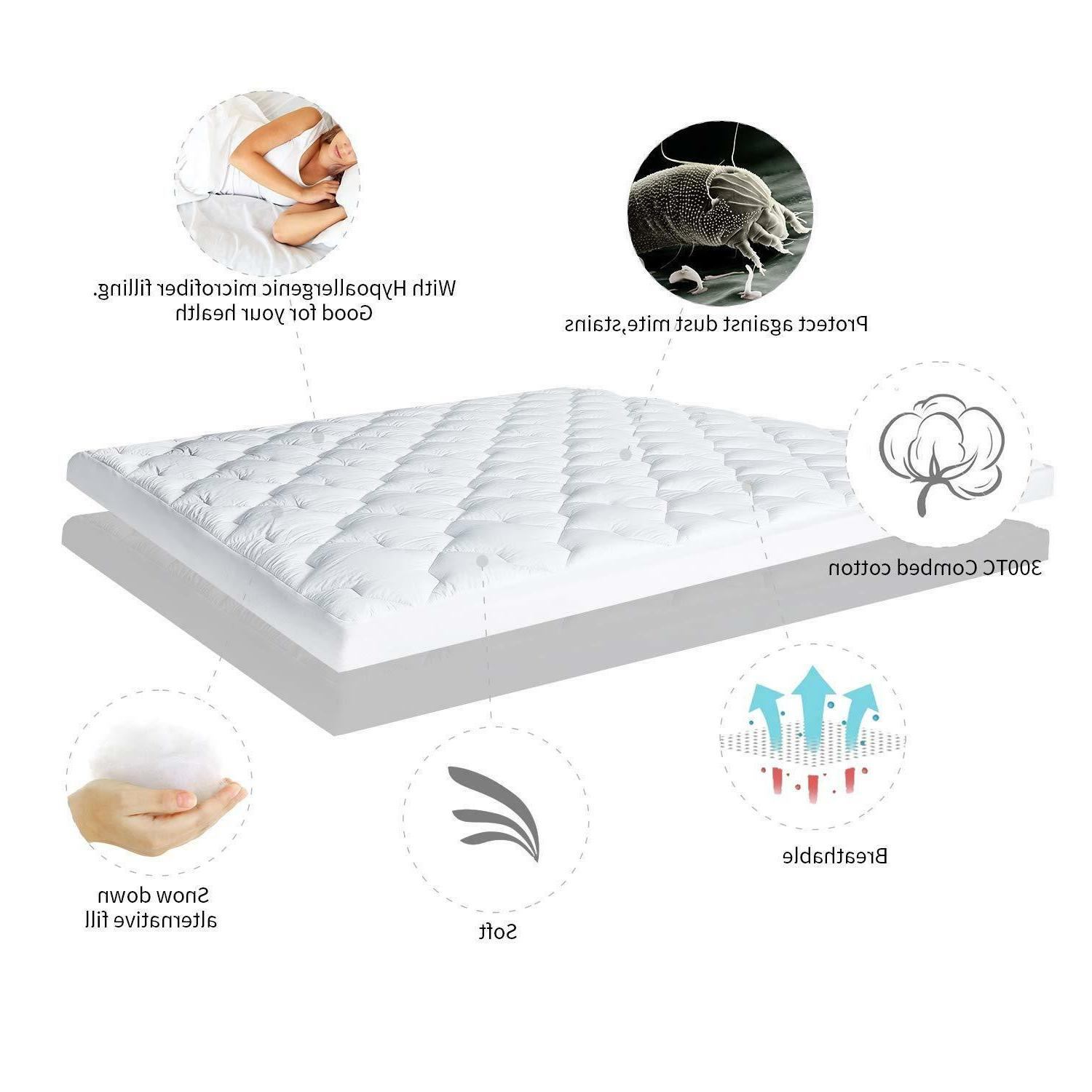 Cooling Cool Cover Topper King Sleeping Cotton