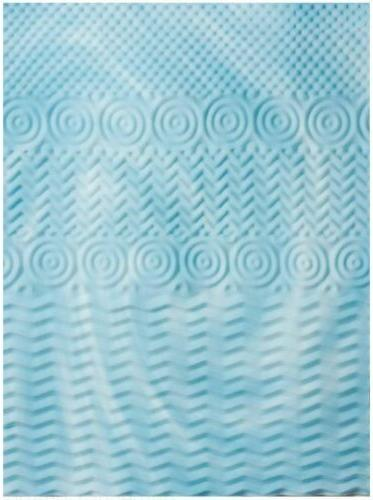 """Cooling Mattress Topper Pad Bed Size 2"""" Cover Bed"""