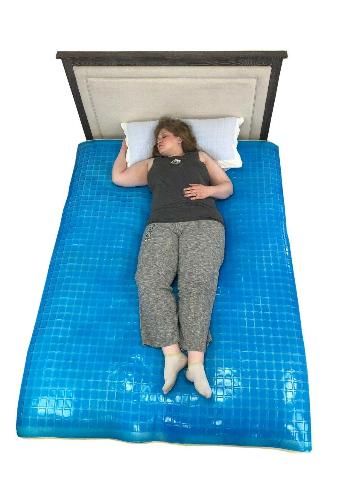 Cooling Gel - Bed Mattress Pad Stay Cool