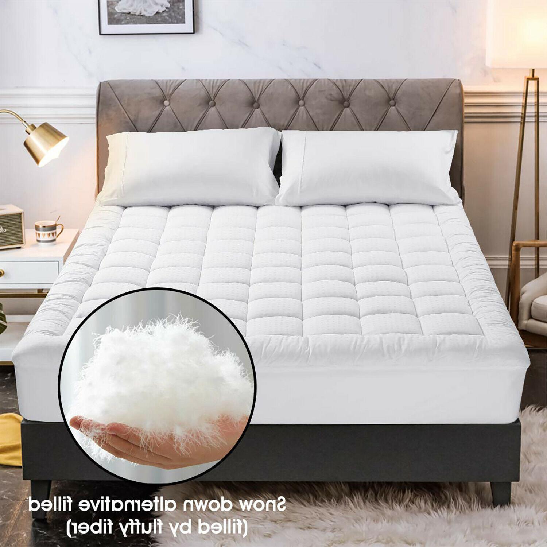 cooling mattress pad snow down alternative deep