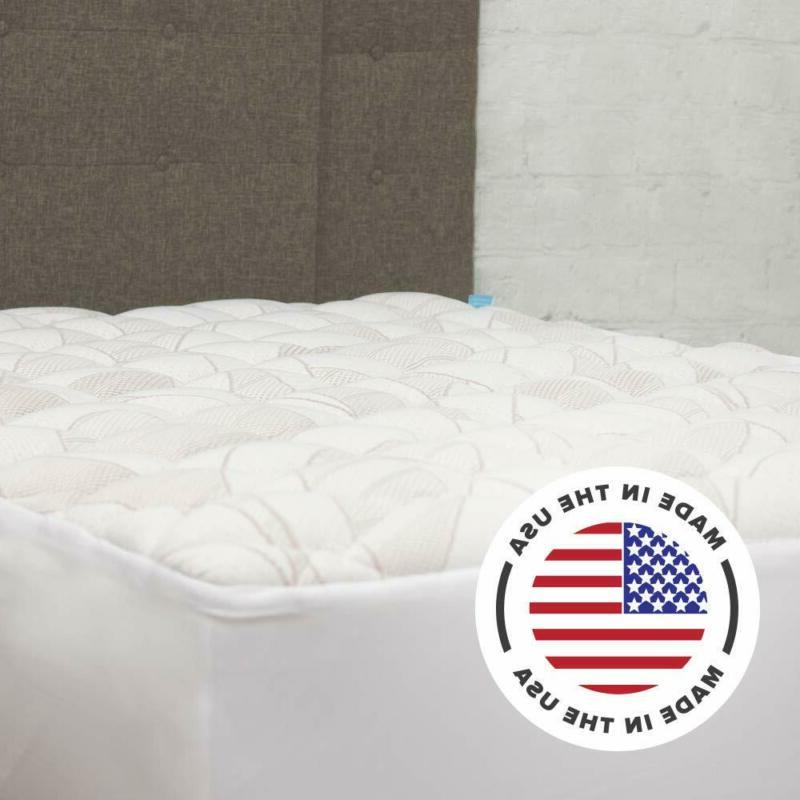eLuxurySupply Mattress Pad with