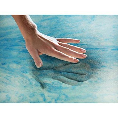 Simmons Beautyrest Simmons Curv 4-inch Sculpted Memory Foam Mattress Polysilk