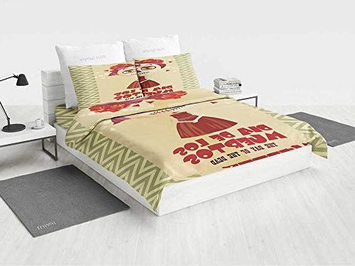 day dead decor bedding sets