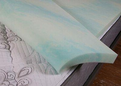 """DreamFoam 2"""" Swirl Memory Foam in USA, Queen"""
