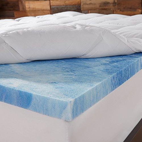 Sleep 4 in. Dual - Gel Foam and