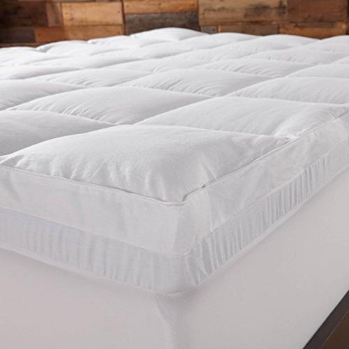 Sleep Innovations Dual Mattress - Memory Foam and Plush Fiber