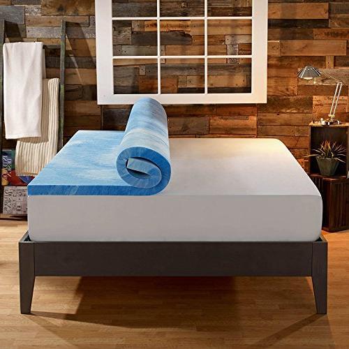 Sleep 4 in. Dual Layer Mattress - Gel and Plush