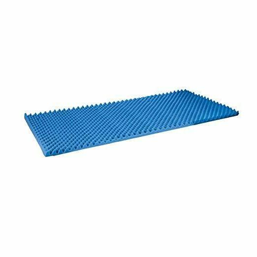 Egg Crate Convoluted Inch Mattress Topper x 72