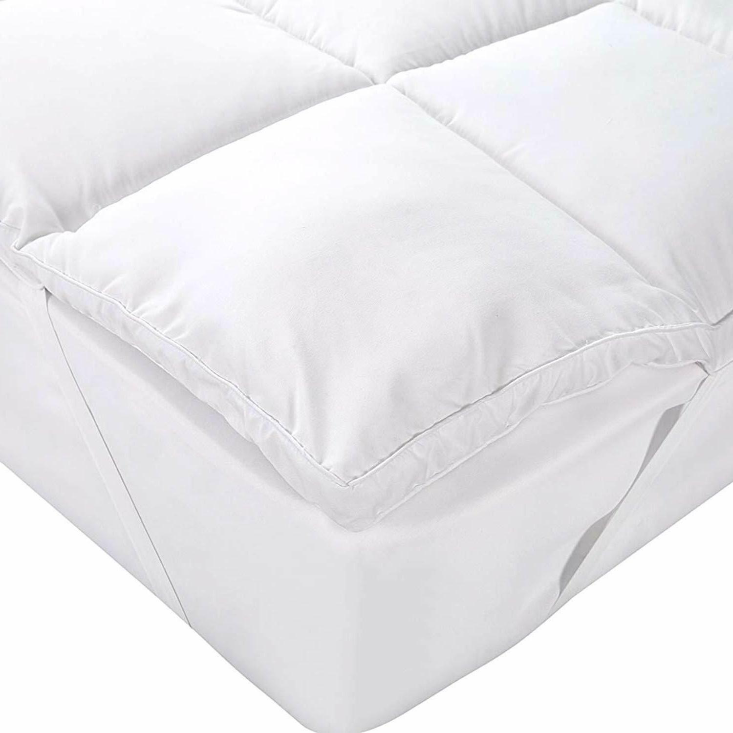 Mattress 3D Hollow Siliconized Fiber By