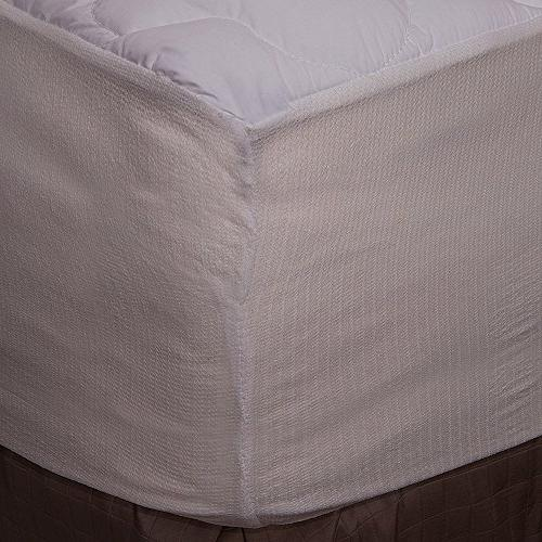 Extra Waterproof Mattress Pad with Fitted - Hypoallergenic Pads USA, California King