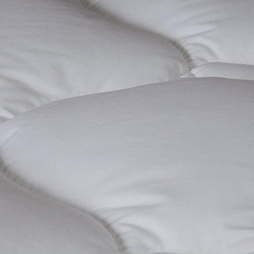 Extra Fitted Mattress Pad & Topper with Hypoallergenic Resistant Pads - Made USA, King