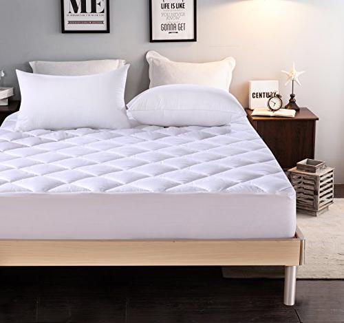 Everest Extra Thick Mattress Pad Queen Size 60 Quot X80 Quot 18