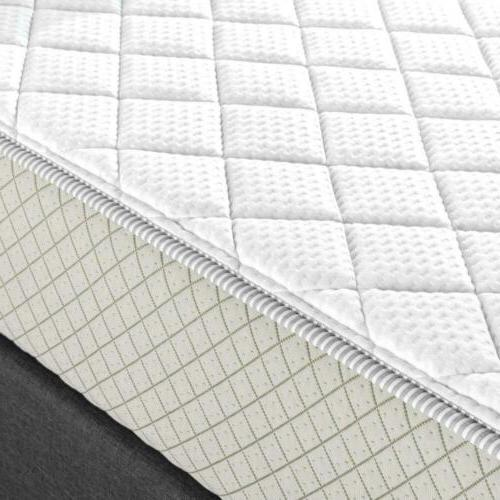 Quilted Mattress Pad for up profiles, Topper...