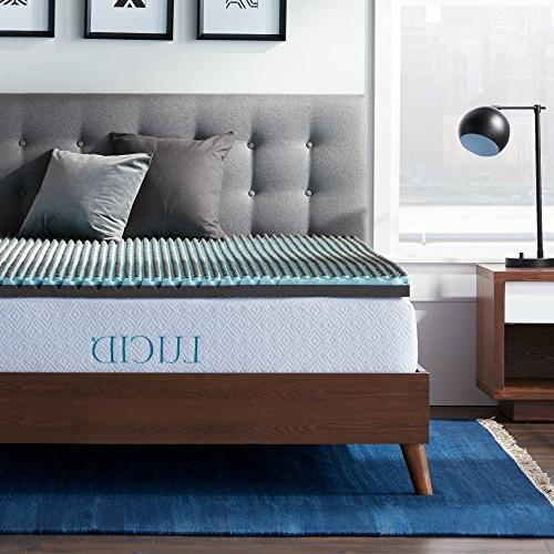 foam bamboo charcoal mattress topper