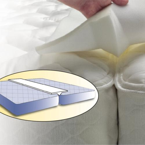Foamily Foam Bed Bridge Pad - Transform Two Twin Mattress Be