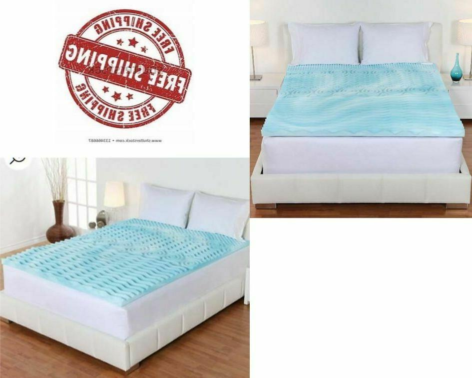 foam mattress topper king size 3 inch