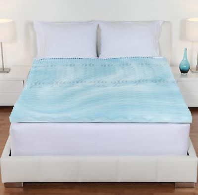 Foam Mattress Topper, Multiple Sizes, Comfort, 5-Zone,