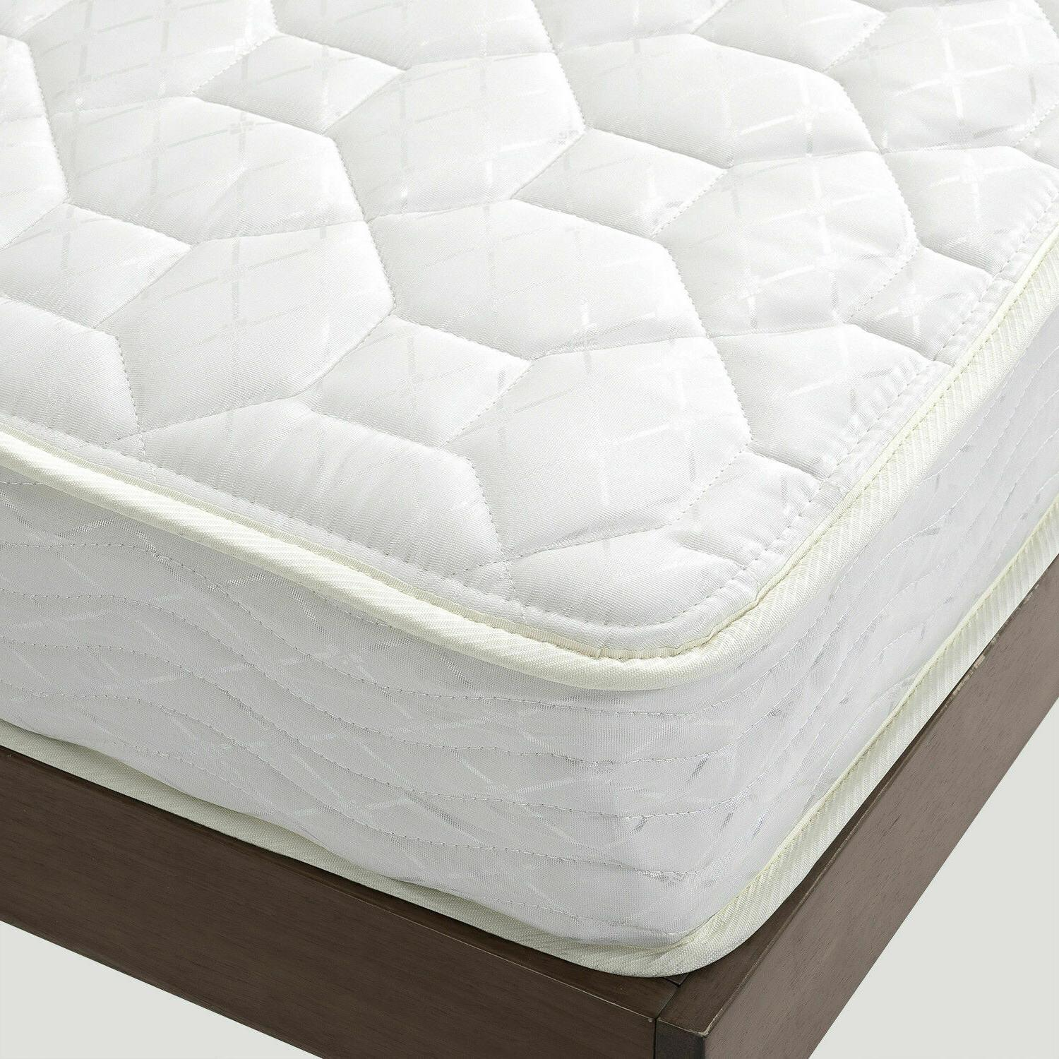 Full Size Inch Comfort Bed Heavy Coil Support