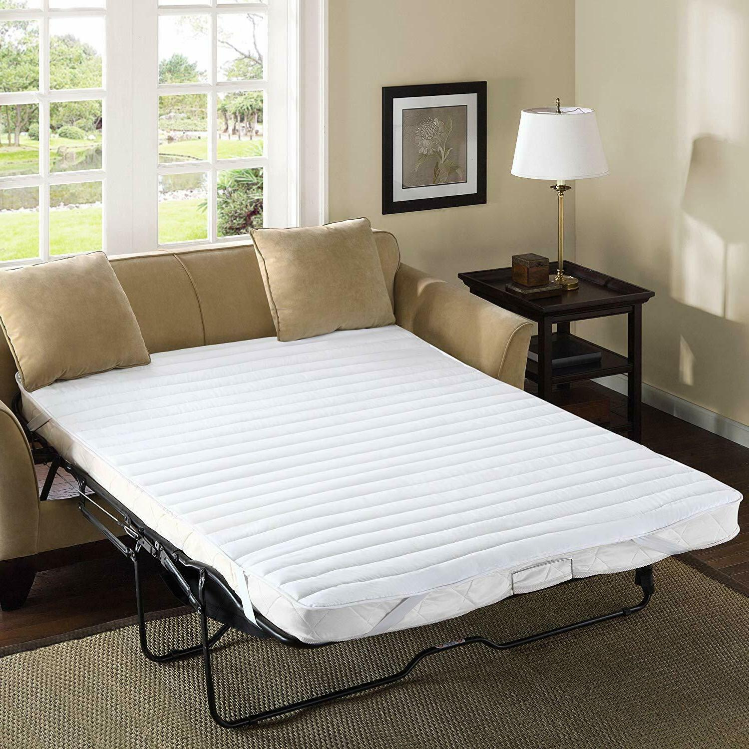 pull out sofa bed mattress pad bedding