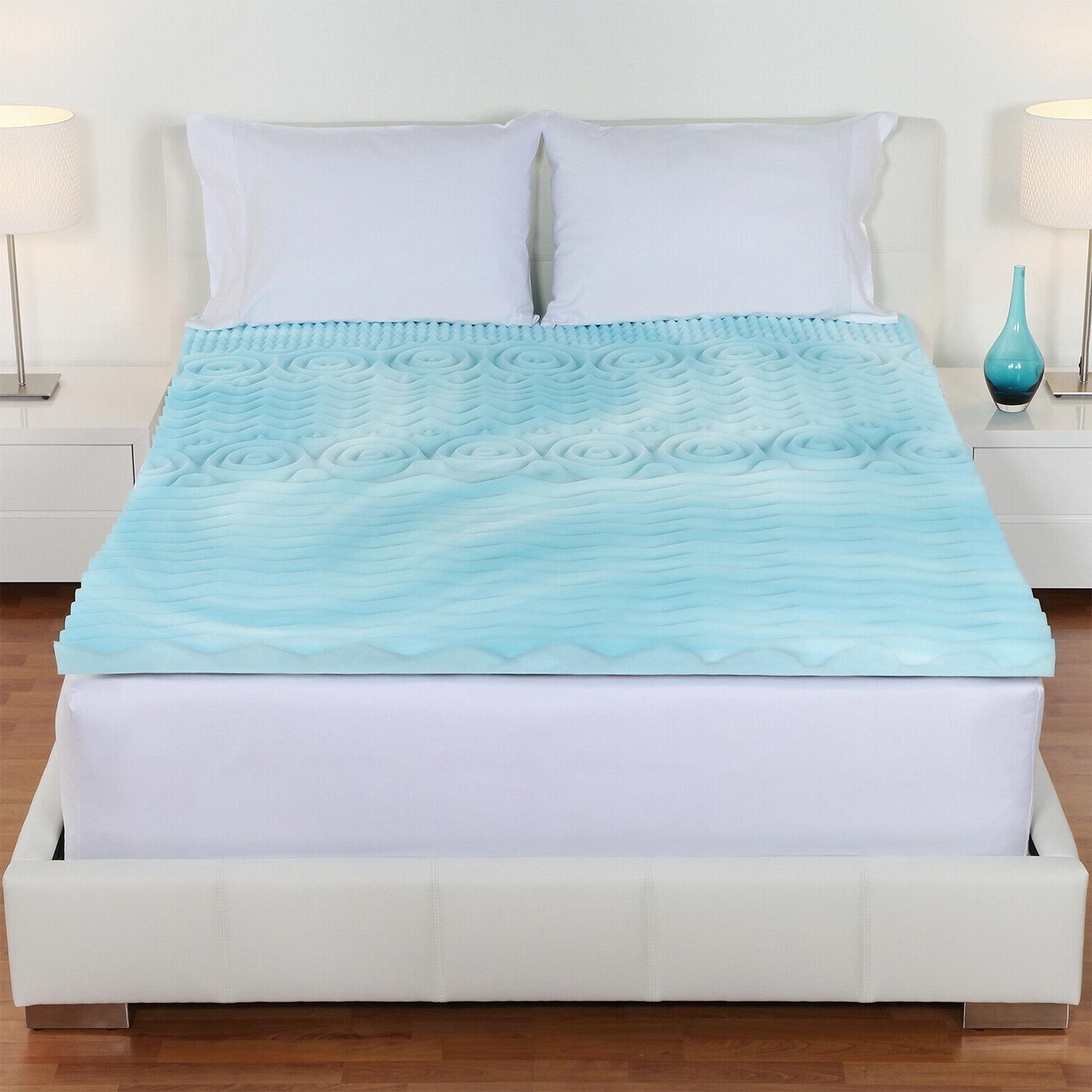 Gel Foam Mattress Topper Twin-XL Size 3-Inch Cooling