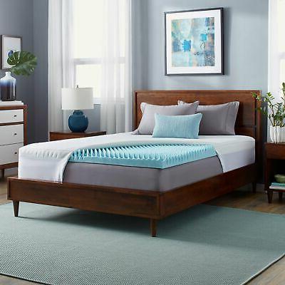 gel highloft 4 inch memory foam mattress