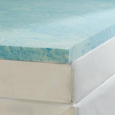 Soft Sleeper Gel Infused Cal King Size 2 inch Memory Foam Ma
