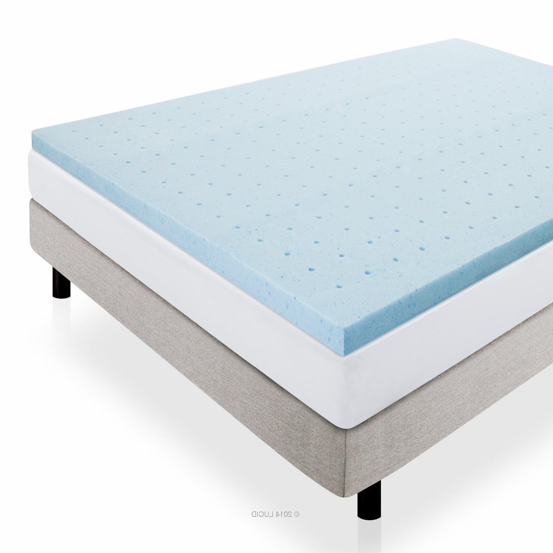 LUCID 2 Inch Infused Ventilated Memory Foam Mattress Warranty