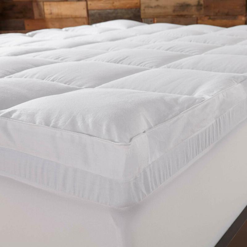 Sleep Innovations Memory Foam 4-Inch Dual Mattress Topper, The
