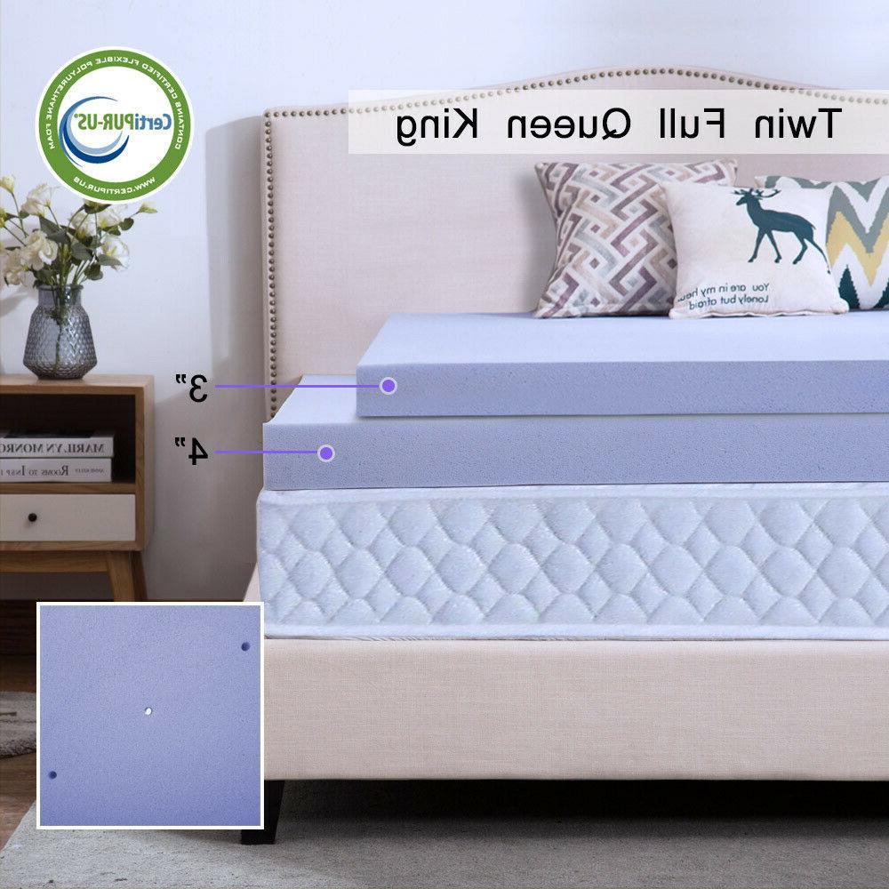 memory foam mattress topper 2 5 3
