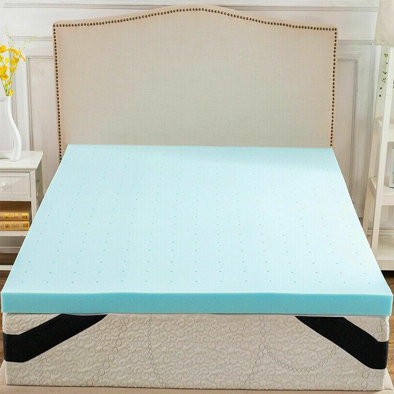 gel memory foam mattress topper 3 inch