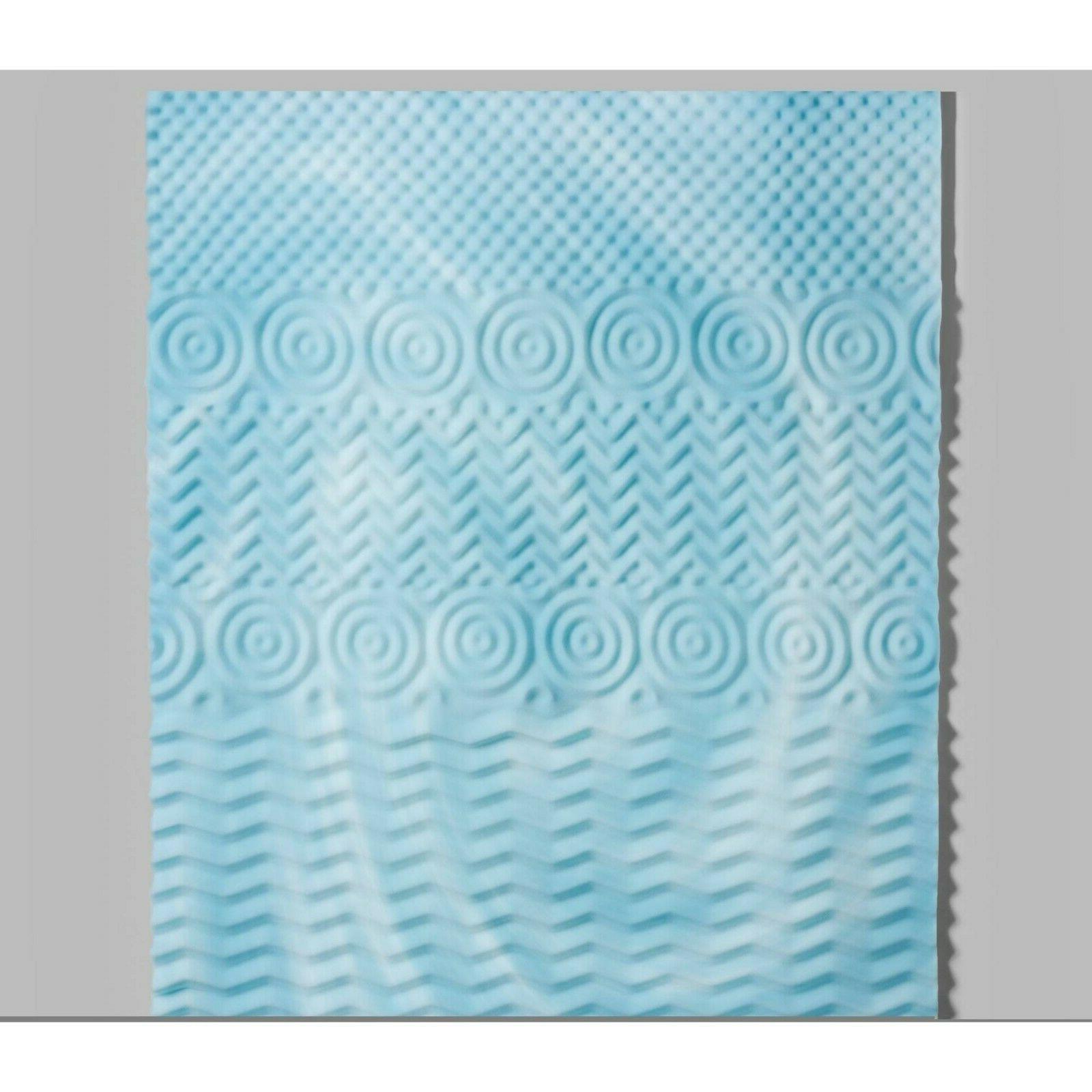 Gel Memory Foam Topper 3-Inch Zoned Size