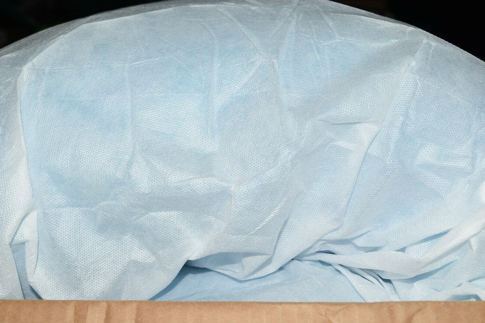 Sleep Gel Memory Foam Topper White/Blue