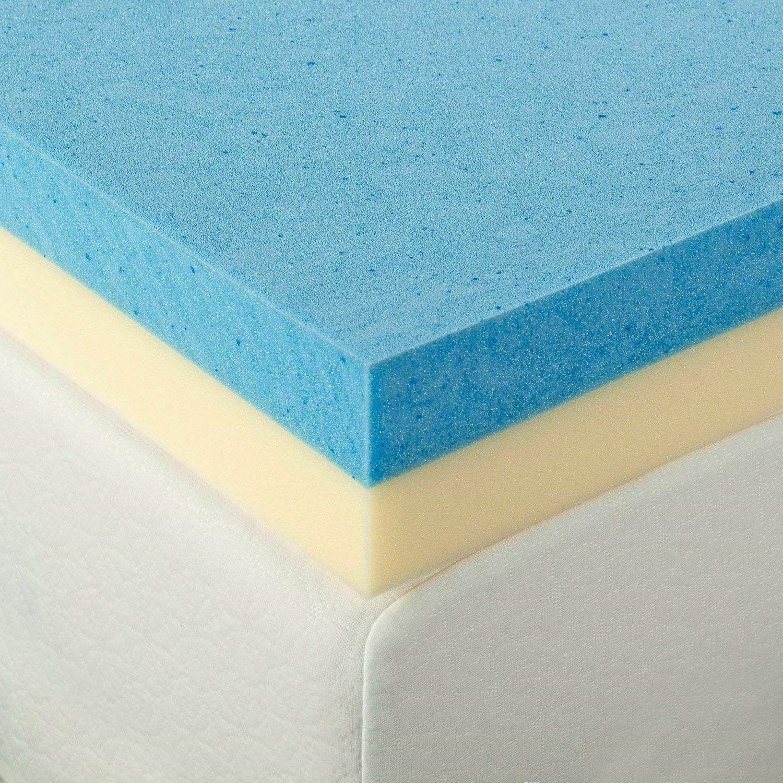 Gel Foam Topper Size Inch Best Toppers