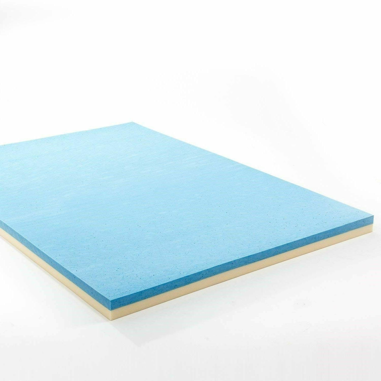 Gel Topper Queen Size Inch Thick Best Bed