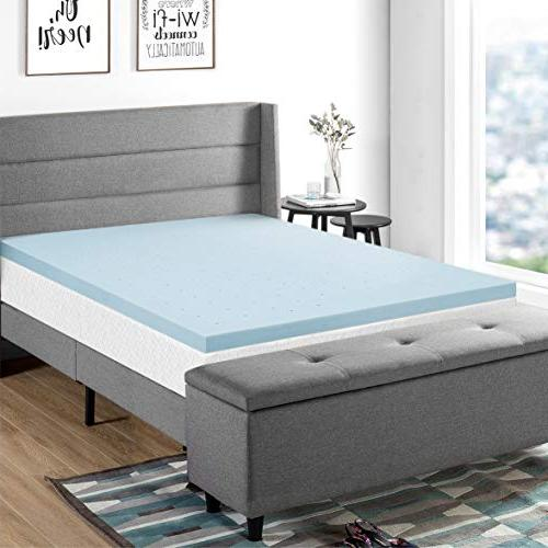 Best Mattress BPP-GM-2.5SQ Topper Foam, Blue
