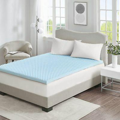 Sleep Philosophy Memory Cooling Bed Blue