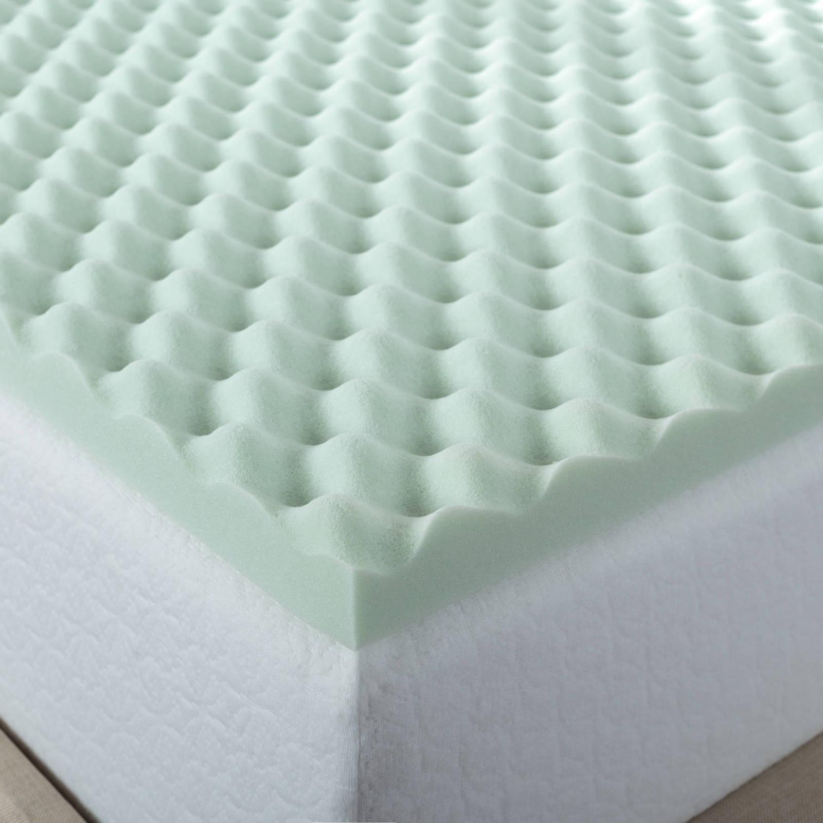 green full size fresh air memory foam