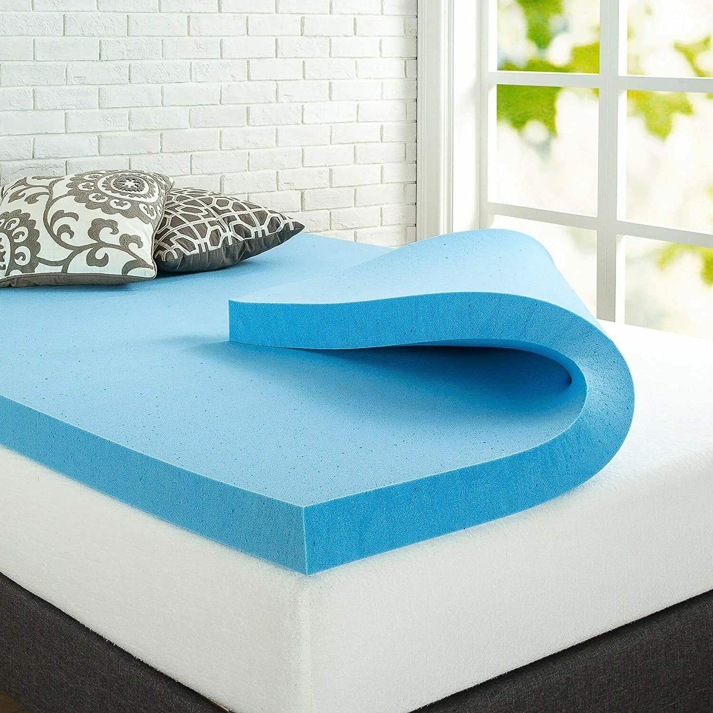 green tea cooling gel memory foam mattress