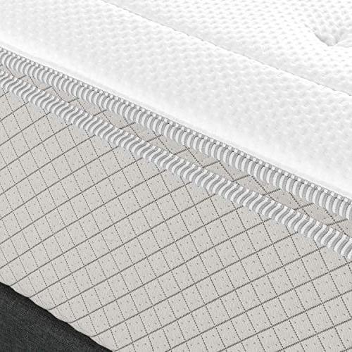 Zinus 2.5 Tea Foam Quilted Mattress Pad Mattresses 12 Inches Mattress