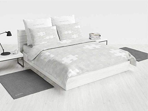 grey truck bedding set abstract