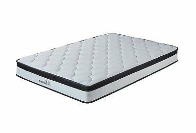 10 inch Hybrid Innerspring and Memory Foam Pillow Top Queen