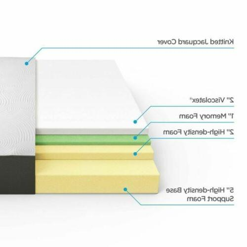 New Full Queen King Size Memory Foam Pad Topper MAX