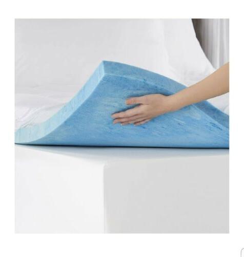 king size 2 inch memory foam mattress