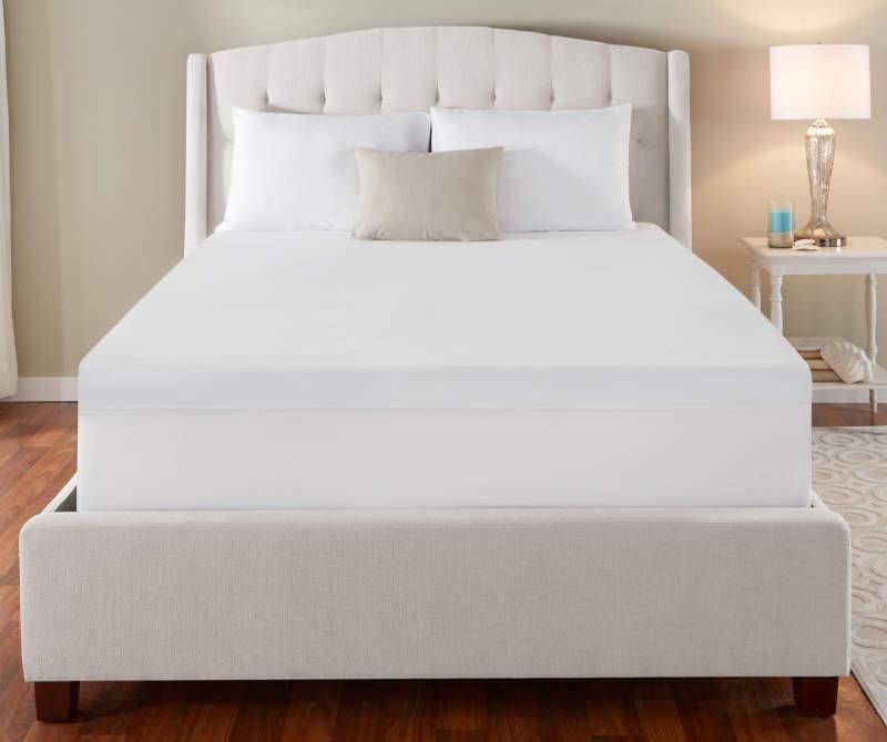 Serta Sleeper King Size - 3 Inch - Gel Foam Mattress Topper