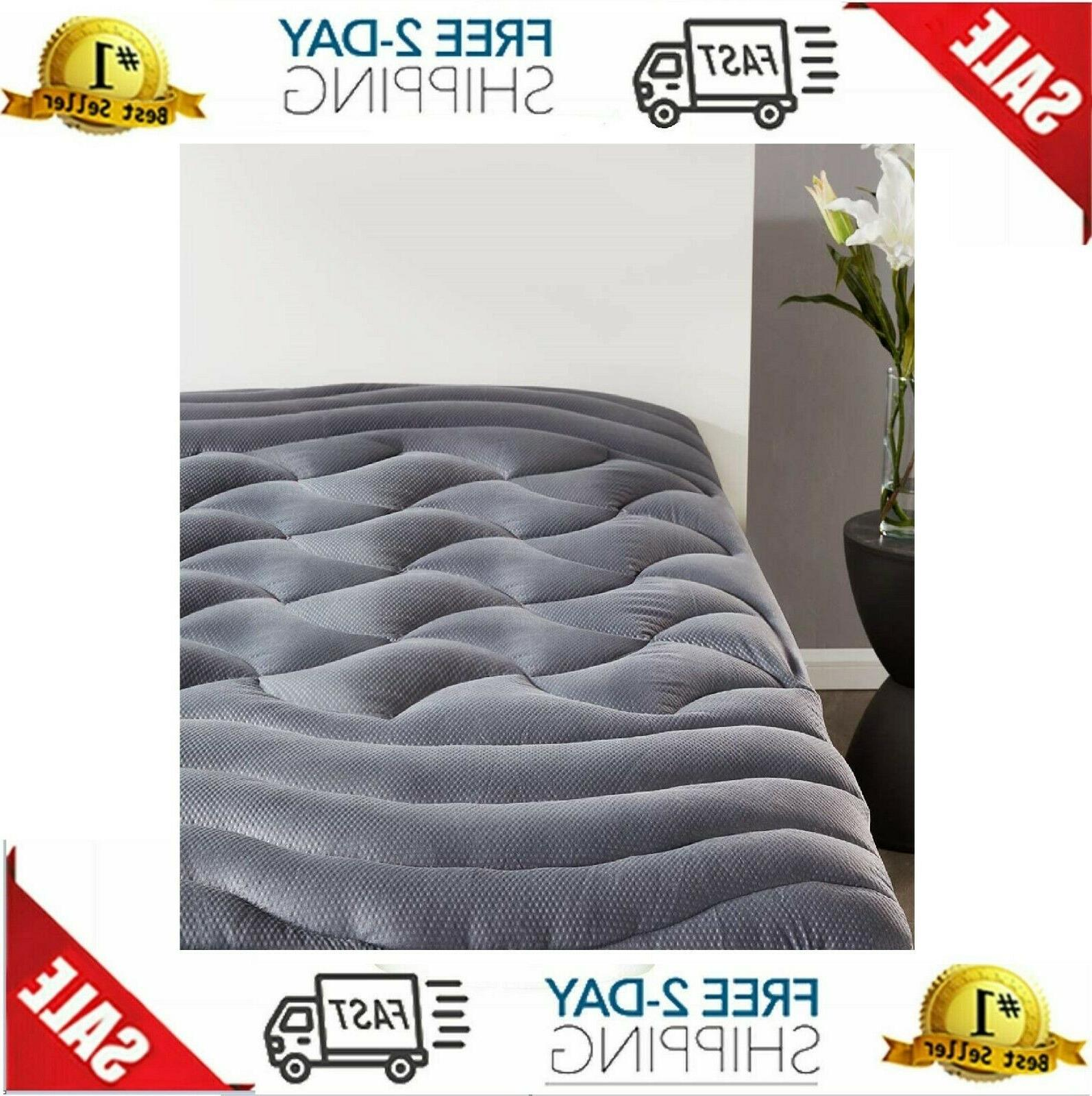 king size memory foam pillow top cooling