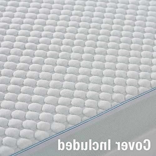 Serta Lasting Ultra Gel-Infused Foam Mattress Topper,