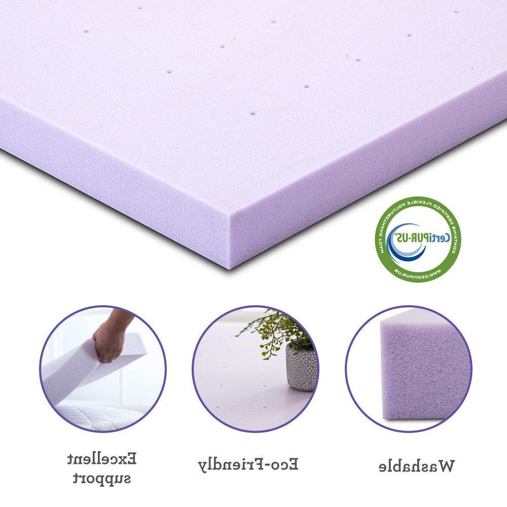 Mattress Topper Dot Queen King Full