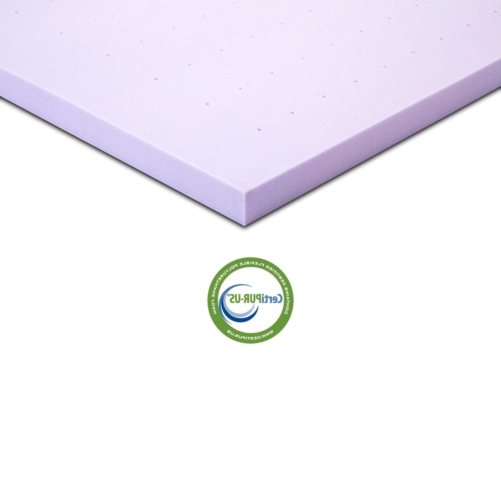 Lavender Full Queen Bed