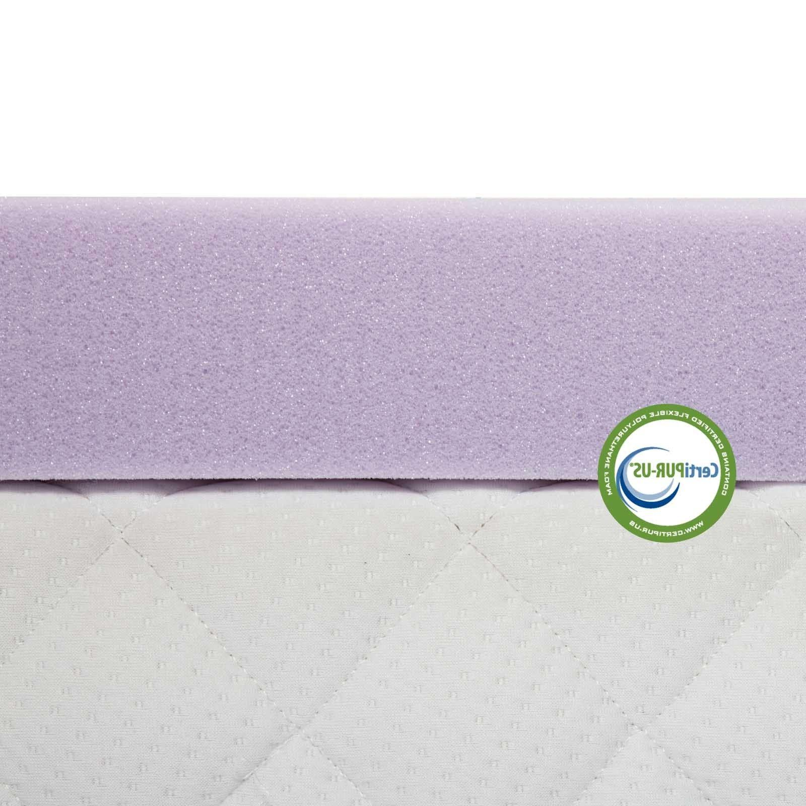 Lavender 3 Foam Mattress Full Queen Twin