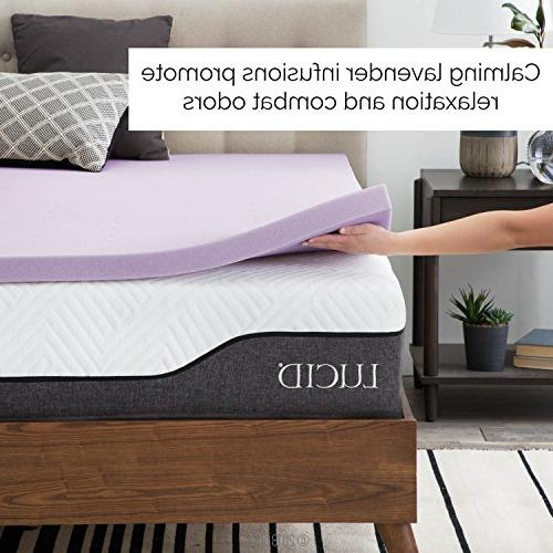 LUCID Ventilated Foam Mattress